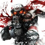 Killzone 3 Blood Splatter wallpaper