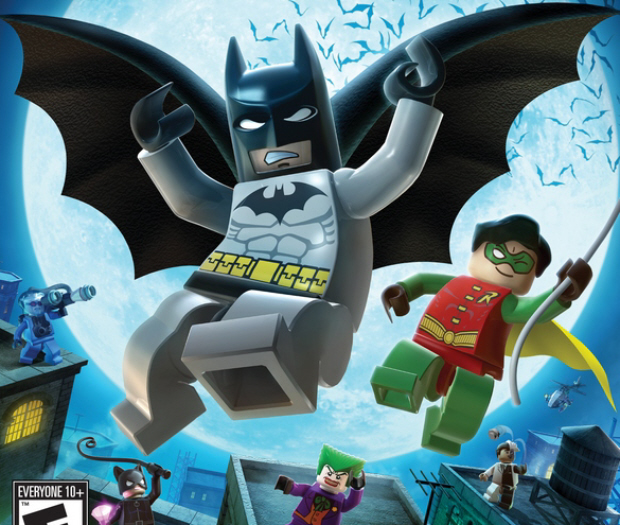 Lego Batman The Video Game walkthrough box artwork