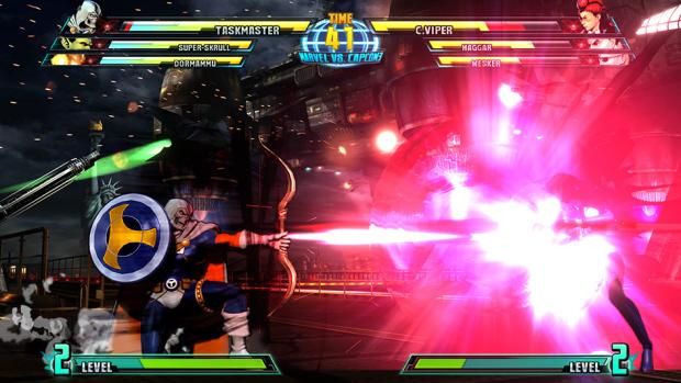 Marvel vs Capcom 3 Taskmaster screenshot