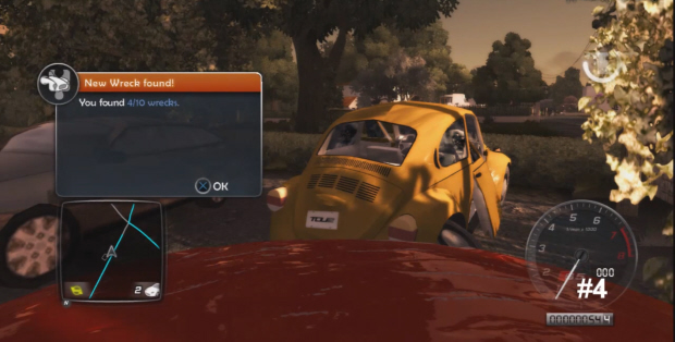 Test Drive Unlimited 2 Wreck Cars locations guide screenshot (Xbox 360, PS3, PC)