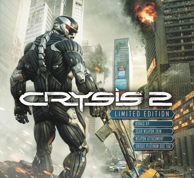 Crysis 2 walkthrough box art