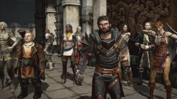 Dragon Age 2 companions screenshot