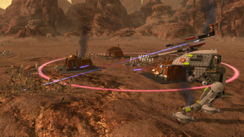 Real-time strategy meets Lego Star Wars 3