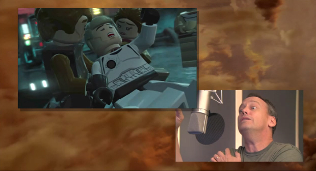 Lego Star Wars 3: The Clone Wars voice acting is hilarious!