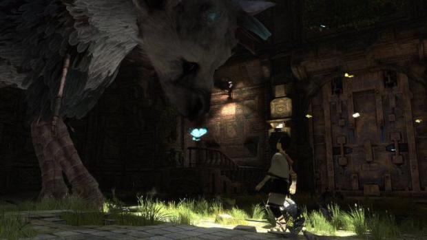 The Last Guardian Trico screenshot (PS3)