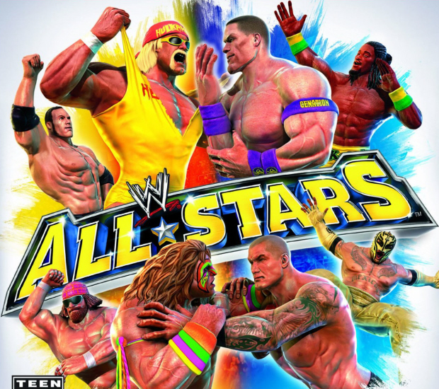 WWE All-Stars walkthrough box artwork