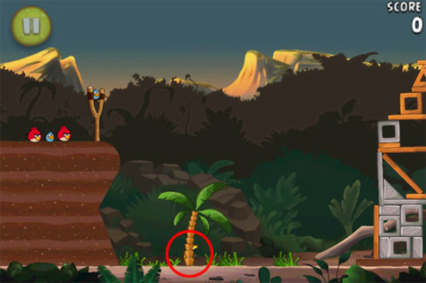 Angry Birds Rio Golden Bananas locations guide screenshot