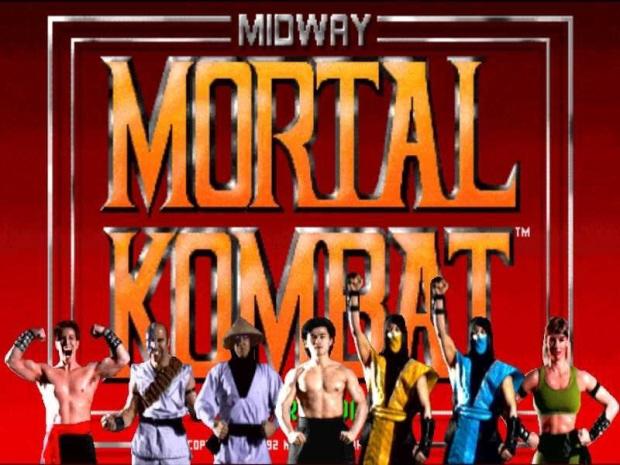 Mortal Kombat 1 cast artwork