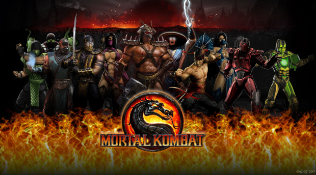 The badass cast of Mortal Kombat 9/2011 for Xbox 360 and PS3!