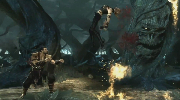 Mortal Kombat 2011 Achievements guide screenshot - Shang Tsung skull juggling!