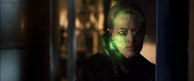 Mortal Kombat Legacy Jeri Ryan as Sonya Blade webisode series picture