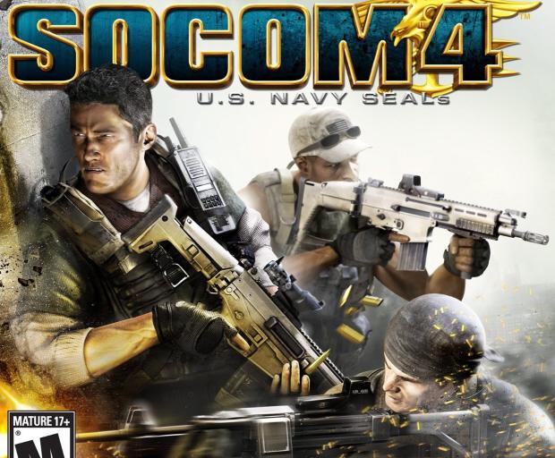 SOCOM 4: U.S. Navy SEALs box artwork (PS3)