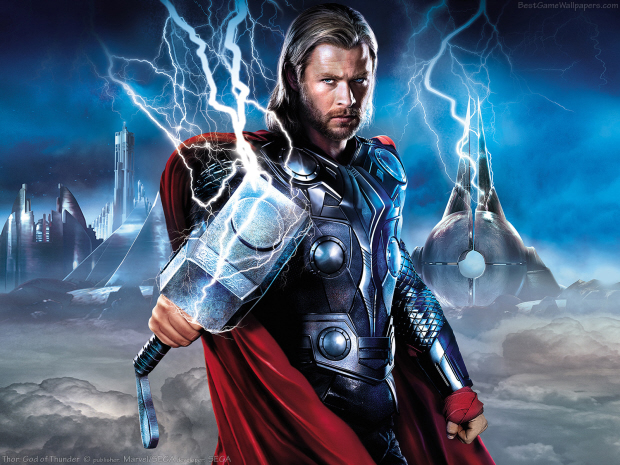 Wallpaper from Thor: God of Thunder the videogame