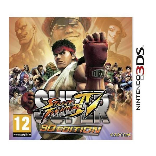 Super Street Fighter IV 3DS Edition review artwork top image