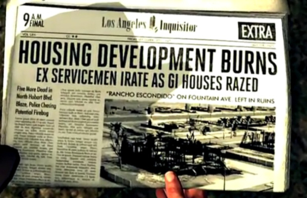 LA Times Newspapers are vital to the world of LA Noire
