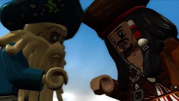 Lego Pirates of the Caribbean characters list screenshot