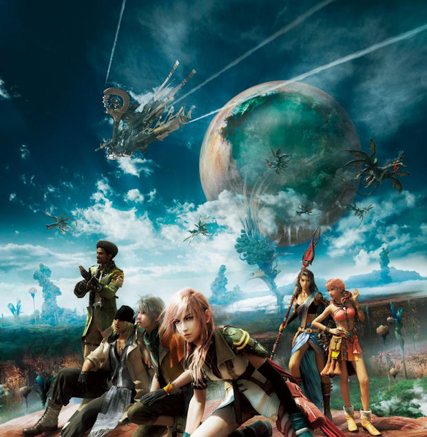 Final Fantasy XIII cast artwork