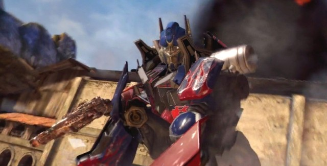 Transformers: Dark of the Moon screenshot