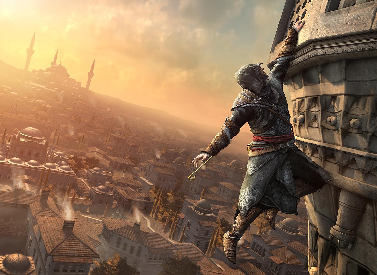 Assassin S Creed Revelations Ezio HD Desktop Wallpaper