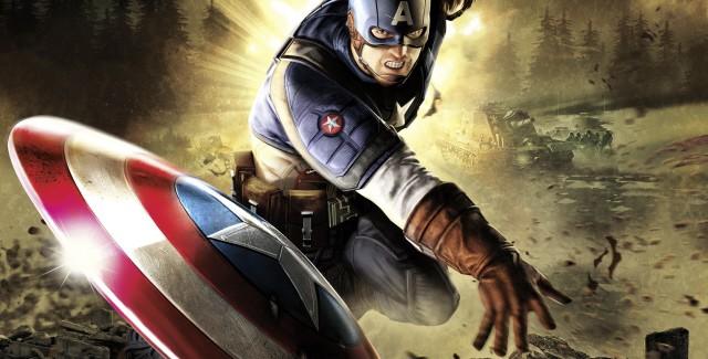 Captain America: Super Soldier badass artwork
