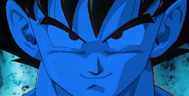 Dragon Ball Z: Ultimate Tenkaichi's character creator lets you edit Goku Smurf blue, like this!
