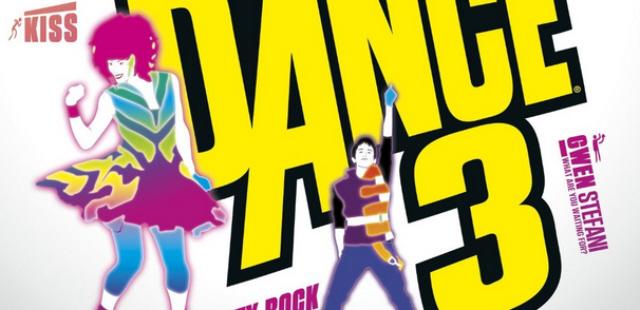 Just Dance 3 song list logo