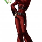 King of Fighters XIII Ash Crimson Character Artwork