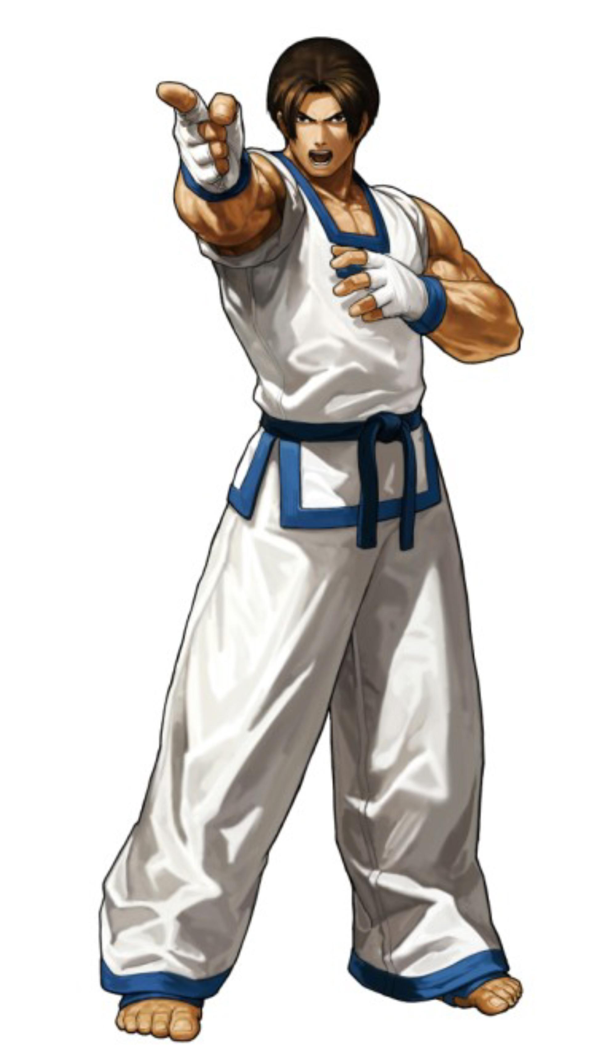 King of fighters xiii kim kaphwan character artwork - King of fighters characters pictures ...