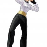 King of Fighters XIII King Character Artwork