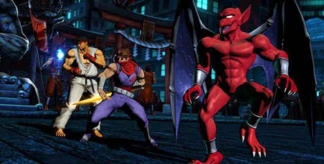 Firebrand and Strider are new to Marvel vs Capcom 3: Ultimate Edition