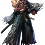 Soul Calibur 5 Mitsurugi artwork. The samurai returns!