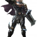 Soul Calibur 5 Siegfried artwork. The series' main protagonist returns!