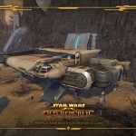 Star Wars: The Old Republic Wallpaper Vehicles
