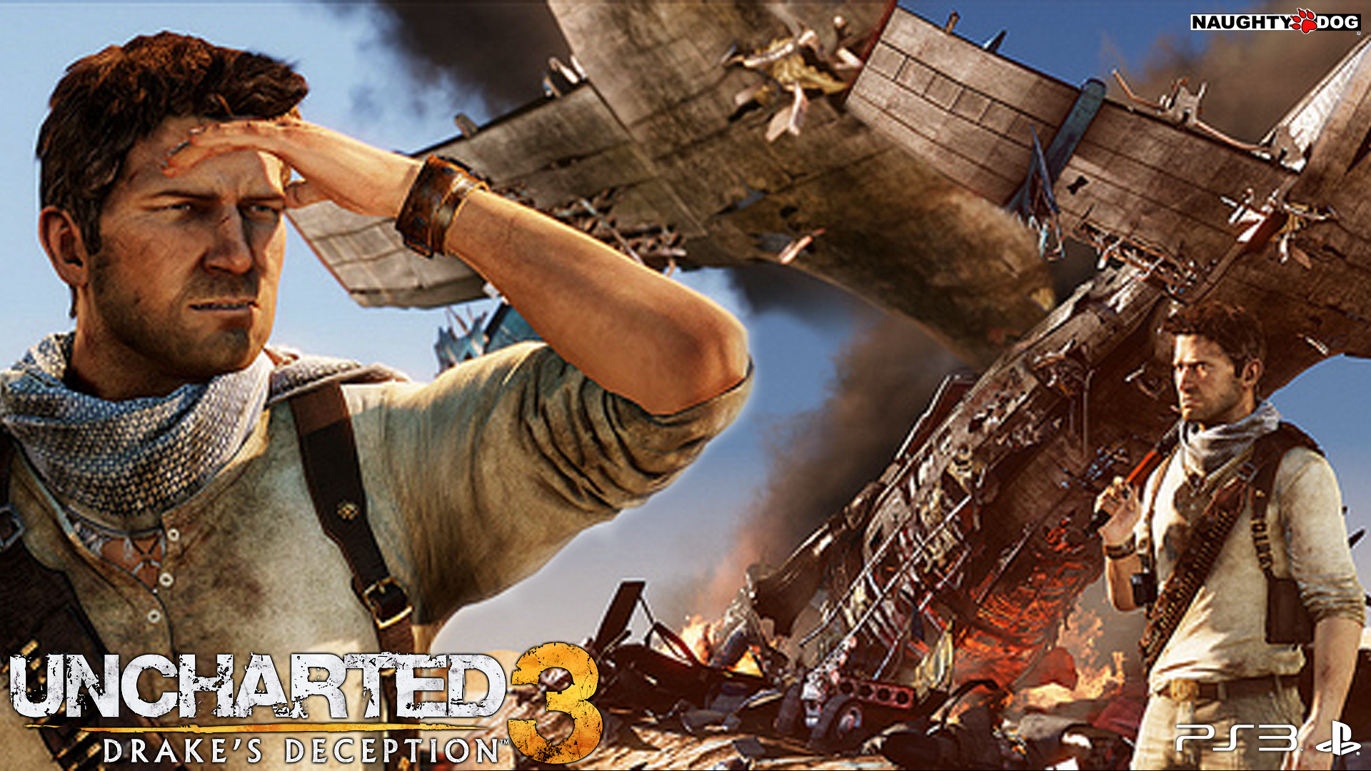 Uncharted 3 Drake'-s Deception Wallpapers | HD Wallpapers
