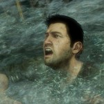 Uncharted 3 Wallpaper Drake Drowning In Water