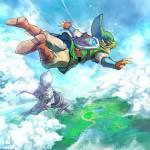 The Legend of Zelda: Skyward Sword Wallpaper Freefalling