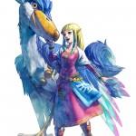 Zelda: Skyward Sword Wallpaper Princess Zelda Bird
