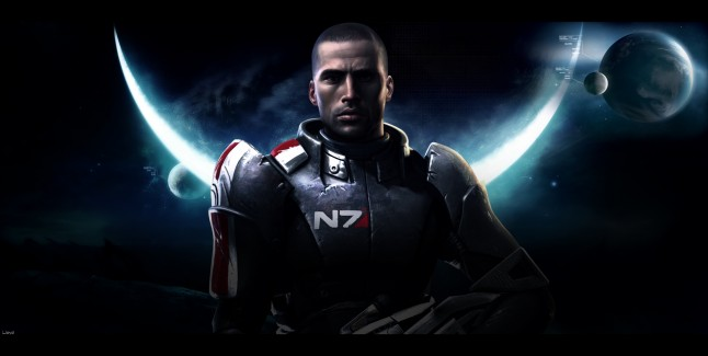 Mass Effect 3 Shepard Image