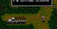 Metal Gear Solid NES Screenshot - I Feel Sleepy
