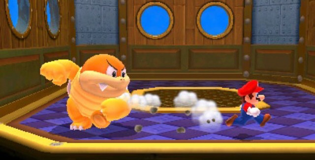 Super Mario 3D Land Characters Shown In Screenshot