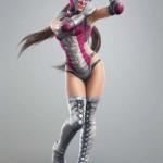Tekken Tag Tournament 2 Sexy Jaycee (Julia Chang in Luchadora Disguise) Character Artwork