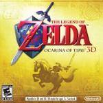 The Legend of Zelda: Ocarina of Time Box Art (3DS) Cover (U.S.)