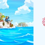 The Legend of Zelda Wallpaper (Phantom Hourglass) - I'm On A Boat B*tch!