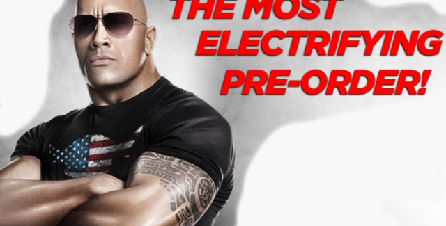 WWE 12 Characters List Art. Pre-order and get The Rock