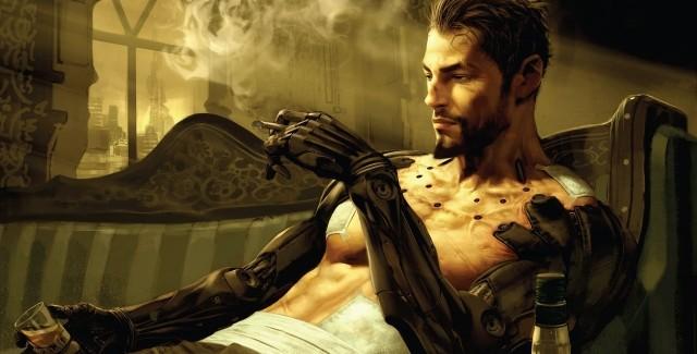 Deus Ex Human Revolution Review Artwork