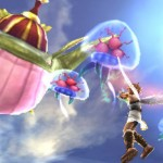 Kid Icarus: Uprising Screenshot Pit vs Metroids. Hell yeah!