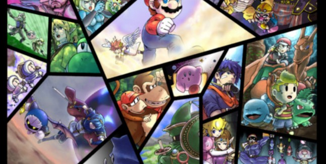 Smash Bros. Artwork. Hopefully Super Smash Bros. 4 Will Look Like This!