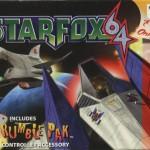 Star Fox 64 Rumble Pak Artwork for N64 Game