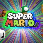 Super Mario 3D Land Wallpaper of Power-Ups