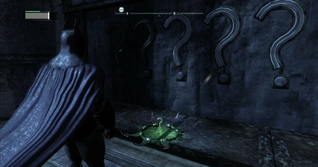 Batman Arkham City Riddler Trophy 1 Screenshot 620x325 batman arkham city riddler trophies locations guide (xbox 360 arkham city calendar man fuse box at n-0.co